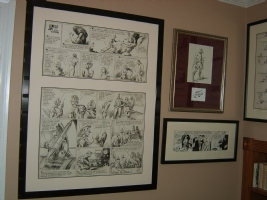 Alex Raymond Flash Gordon framed 1 Comic Art