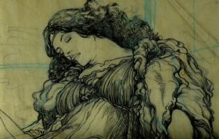 Barry Windsor Smith:  A Sybil detail Comic Art