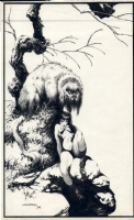 Classic Vampirella  pin up  Berni Wrightson 1974 Comic Art