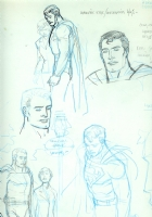 BWS Superman study page! Comic Art
