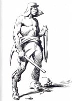 Legion Man Vintage Alex Raymond 1936! Comic Art