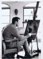 Frank Frazetta's Studio, 1964 Comic Art