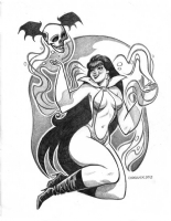 Vampirella , Comic Art