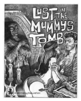 Lust in the Mummy's Tomb, Comic Art