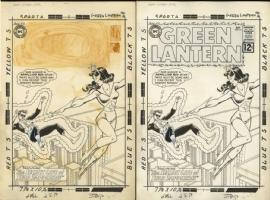 GREEN LANTERN #16 Cover Art (1962) by Gil Kane Comic Art