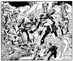 Transformers, Comic Art