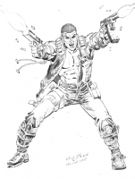 BLOODSHOT, Comic Art