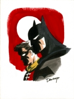 Batman and Robin - Darwyn Cooke Comic Art
