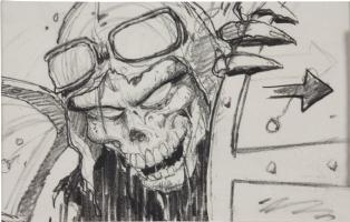 Heavy Metal Stoyboard Comic Art