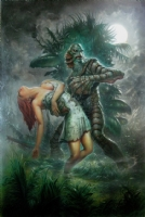 Creature from the Black Lagoon Comic Art