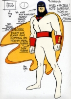 Space Ghost Comic Art