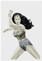 Wonder Woman  77 Unusued Cover Comic Art