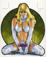 Women Of Marvel Emma Frost Comic Art
