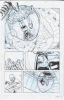 Sandy Jarrell - Batman '66 #3 Page 24 - Batman, Robin, Egghead Comic Art