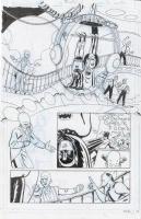 Sandy Jarrell - Batman '66 #3 Page 22 - Batman, Robin, Egghead Comic Art