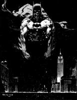 Jorge Zaffino (1959 - 2002) - Batman: Legends Of The Dark Knight 179 Cover *Sold* Comic Art