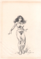 Princess Dejah Thoris, from John Carter/Princess of Mars Comic Art
