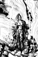 Liam Sharp - Possessed: Trix Splash Comic Art