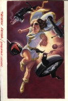 MARY MARVEL Comic Art