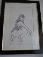 BETTY  PAGE Comic Art