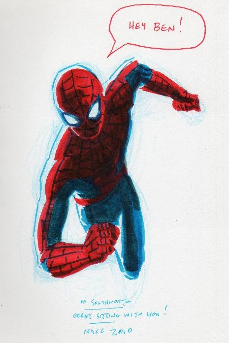 Spider-Man, by Matthew Southworth Comic Art