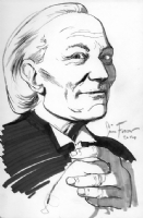 Doctor Who (First Doctor), by Simon Fraser, Comic Art