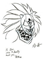 Jaguar, by Alitha Martinez, Comic Art