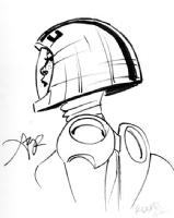 Rocket Girl, by Amy Reeder, Comic Art