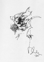 Beast, by Dennis Calero Comic Art