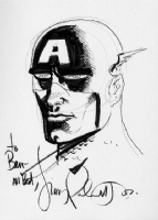 Captain America, by Jimmy Palmiotti Comic Art