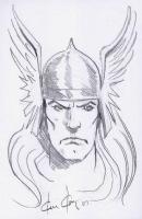 Thor, by Ken Kelly Comic Art