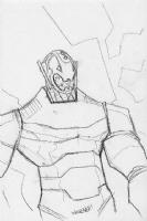 Ultron, by Scott Wegener Comic Art