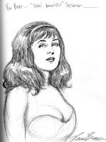 Beautiful Dreamer, by Russ Braun Comic Art