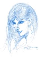 Vampirella, by Rudy Nebres, Comic Art