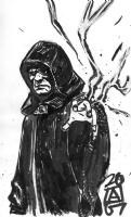 Emperor Palpatine, by Paul Azaceta Comic Art