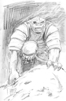 Bossk, by Fred Harper Comic Art