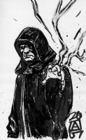 Emperor Palpatine, by Paul Azaceta Comic Art