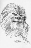 Chewbacca, by Michael Netzer Comic Art