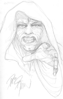 Emperor Palpatine, by Dave Dorman Comic Art