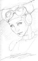 Hera Syndulla, by Shane Davis Comic Art