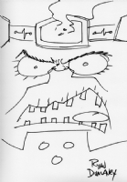 M.O.D.O.K. by Ryan Dunlavey, Comic Art