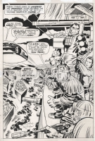 Kamandi p.13 splash Comic Art