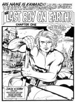 Kamandi #1 Comic Art
