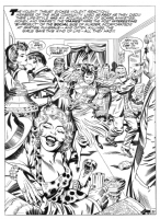 In the Days of the Mob #2 (unpublished) Comic Art