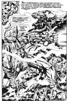New Gods #7 Comic Art