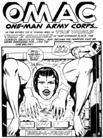 OMAC #1 Comic Art