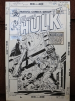 Hulk 229 Cover (1978) Comic Art