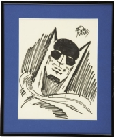 Bob Kane Batman Sketch Comic Art
