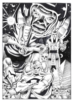 The Many Lives of Immortus (Frank BRUNNER), Comic Art