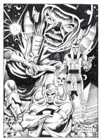 The Many Lives of Immortus (Frank BRUNNER), Comic Art